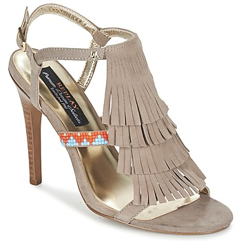 Chaussures Femme Sandales et Nu-pieds Replay BENIE Taupe