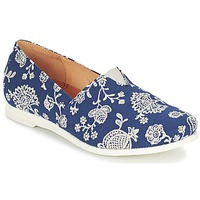 Chaussures Femme Slip ons Think GRIVA Marine / Blanc
