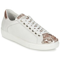 Chaussures Femme Baskets basses Tosca Blu REOLI Blanc / Rose