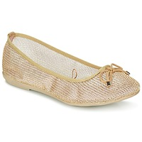 Chaussures Femme Ballerines / babies Refresh OULALA Doré