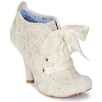 Chaussures Femme Low boots Irregular Choice ABIGAILS THIRD PARTY Blanc crème