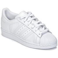 Chaussures Enfant Baskets basses adidas Originals SUPERSTAR Blanc