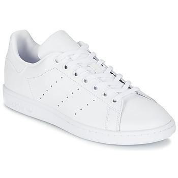 Chaussures Enfant Baskets basses adidas Originals STAN SMITH J Blanc
