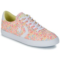 Chaussures Femme Baskets basses Converse BREAKPOINT FLORAL TEXTILE OX Rose / Blanc