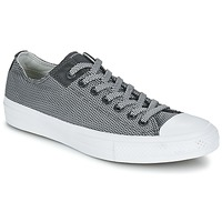 Chaussures Baskets basses Converse CHUCK TAYLOR ALL STAR II BASKETWEAVE FUSE OX Gris / Blanc