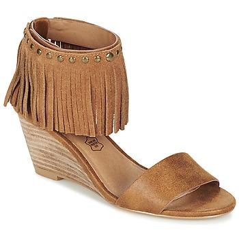 Chaussures Femme Sandales et Nu-pieds LPB Shoes NADIA Camel