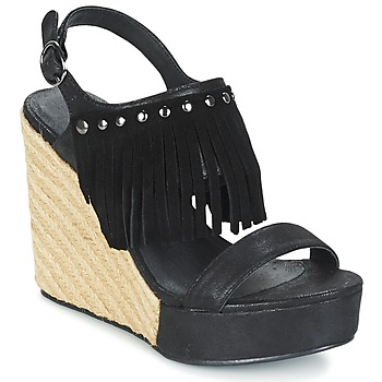 Chaussures Femme Sandales et Nu-pieds LPB Shoes SABINE Noir
