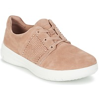 Chaussures Femme Baskets basses FitFlop SPORTY-POP X CRYSTAL Rose