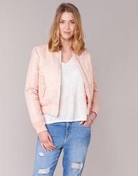 Vêtements Femme Blousons Schott BOMBER BY SCHOTT Rose