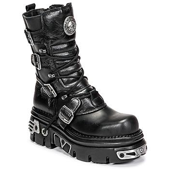 Chaussures Femme Boots New Rock NEMESIS Noir