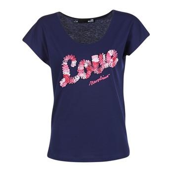 Vêtements Femme T-shirts manches courtes Love Moschino W4G4127 Bleu