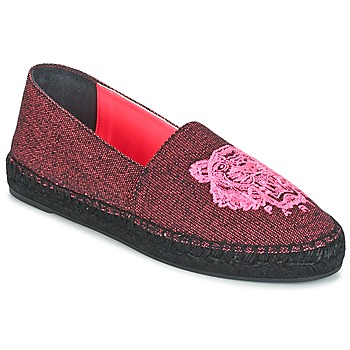 Chaussures Femme Espadrilles Kenzo TIGER FLUO CANVAS MIXED Rose