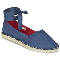 Chaussures Femme Espadrilles Havaianas ORIGINE SLIM Bleu