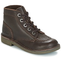 Chaussures Femme Boots Kickers KICK COL Marron