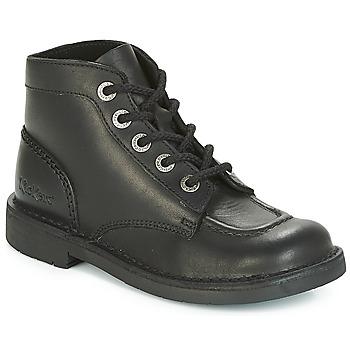 Chaussures Femme Boots Kickers KICK COL PERM Noir