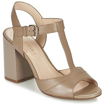 Chaussures Femme Sandales et Nu-pieds Café Noir GIMOTTI Taupe