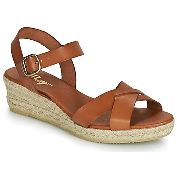 Chaussures Femme Sandales et Nu-pieds Betty London GIORGIA Camel