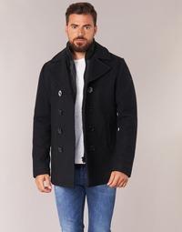 Vêtements Homme Manteaux Schott CYCLONE 2 Marine