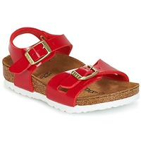 Chaussures Enfant Sandales et Nu-pieds Birkenstock RIO Rouge