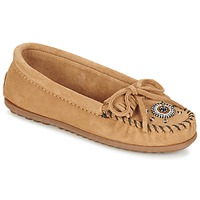 Chaussures Femme Mocassins Minnetonka ME TO WE MOC Taupe
