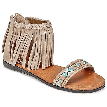 Chaussures Femme Sandales et Nu-pieds Minnetonka MOROCCO Taupe