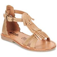 Chaussures Fille Sandales et Nu-pieds Citrouille et Compagnie GAMELA Camel