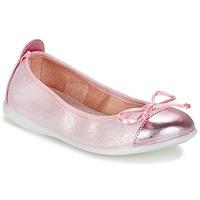 Chaussures Fille Ballerines / babies Citrouille et Compagnie GRAGON Rose pailleté