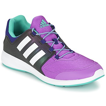 Chaussures Enfant Baskets basses adidas Performance S-FLEX K Noir / violet