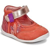 Chaussures Fille Ballerines / babies Kickers BIMAMBO Orange / Fuchsia / Rose