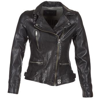 Vêtements Femme Vestes en cuir / synthétiques Oakwood VIDEO Noir