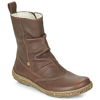 Chaussures Femme Boots El Naturalista NIDO TRAMBU Marron