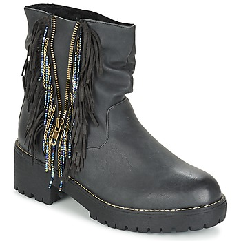 Chaussures Femme Boots Coolway BARINA Noir