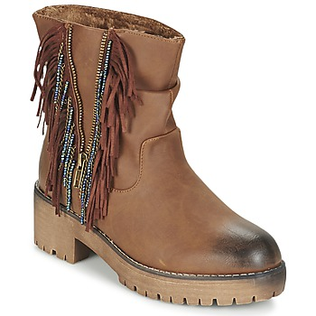 Chaussures Femme Boots Coolway BARINA Camel