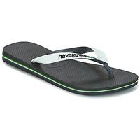 Chaussures Tongs Havaianas BRASIL MIX Blanc / Noir