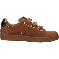 Chaussures Femme Baskets basses Serafini chaussures femme  sneakers marron cuir scamosciata AF862 marron