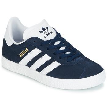 Chaussures Garçon Baskets basses adidas Originals Gazelle C Marine