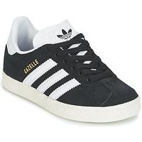 Chaussures Enfant Baskets basses adidas Originals GAZELLE C Noir