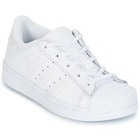 Chaussures Enfant Baskets basses adidas Originals SUPERTSAR Blanc