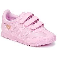 Chaussures Fille Baskets basses adidas Originals DRAGON OG CF I Rose