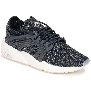 Chaussures Running / trail Puma BLAZE CAGE EVOKNIT Noir / Blanc