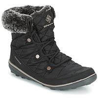 Chaussures Femme Bottes de neige Columbia HEAVENLY SHORTY OMNI-HEAT Noir