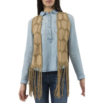 Vêtements Femme Gilets / Cardigans Molly Bracken gilets sans manche  f292e17 beige beige