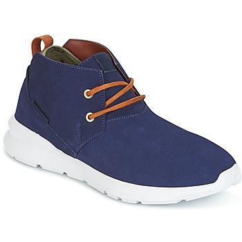 Chaussures Homme Boots DC Shoes ASHLAR M SHOE NC2 Marine / Camel