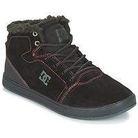 Chaussures Enfant Baskets montantes DC Shoes CRISIS HIGH WNT Noir / Rouge / Blanc