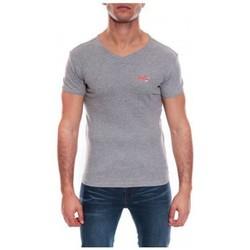 Vêtements Homme T-shirts & Polos Ritchie T-SHIRT V WORKO II Gris