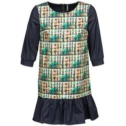 Vêtements Femme Robes courtes Naf Naf ECAPS Noir / Multicolore
