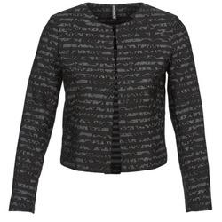 Vêtements Femme Vestes / Blazers Naf Naf LYMINIE Gris / Noir