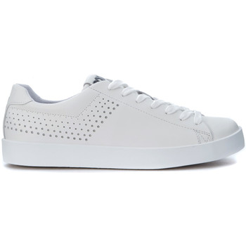 Chaussures Homme Baskets mode Pony Basket  en peau blanche Blanc