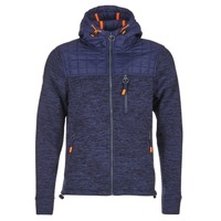 Vêtements Homme Sweats Superdry MOUNTAIN QUILTED SHERPA Marine