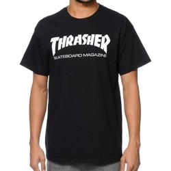 Vêtements Homme T-shirts manches courtes Thrasher CAMISETA  SKATE MAG Noir